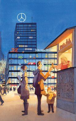 Una illustrazione di Manuele Fior, pubblicata in accordo con Amaca Agency, Parigi © 2020 Raffaello Cortina Editore