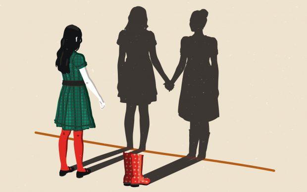 Una tavola tratta da Contro ogni violenza sulle donne, di Francesca Sironi e Susanna Gentili, Centauria 2020