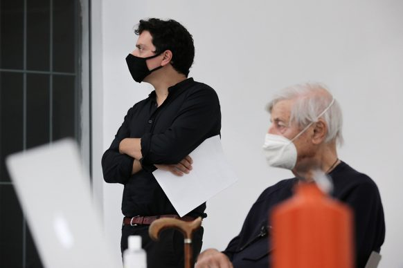 Andreco e Baruchello. Photo credit Futura Tittaferrante