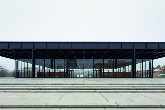 Grundinstandsetzung- Neue Nationalgalerie, Berlin, Baubegleitende Dokumentation Dezember 2020. Image © BBR / Thomas Bruns