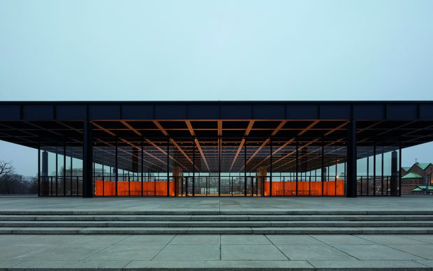 Grundinstandsetzung- Neue Nationalgalerie, Berlin, Baubegleitende Dokumentation; Dezember 2020. Image © BBR / Thomas Bruns