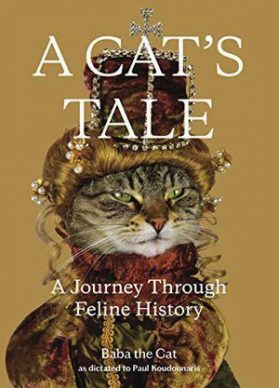 """""""A Cat's Tale. A Journey Through Feline History"""". Cover"""