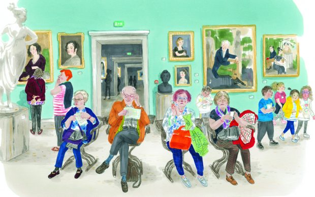 Al Museo, Vessela Nikolova e Susanna Mattiangeli. Topipittori, 2020