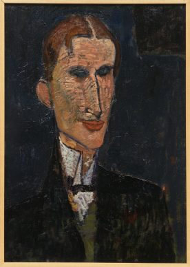 Amedeo Modigliani, Viking Eggeling, 1916. Huile sur toile, 65 x 46 cm. LaM, Villeneuve d'Ascq, ancienne collection Roger Dutilleul. Photo Muriel Anssens
