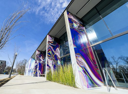 La nuova opera di Anne Vieux a Bentonville. Photo credits Justkids.art