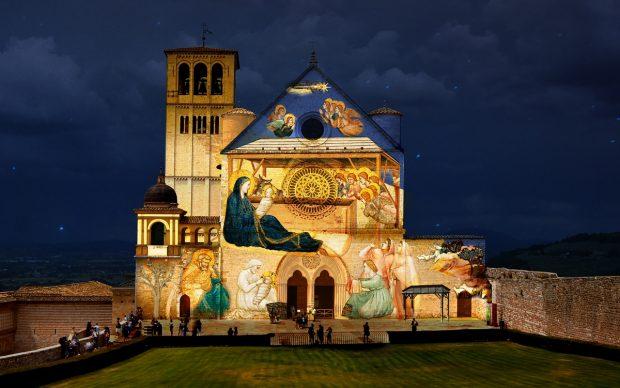 Basilica di San Francesco, Assisi. Courtesy Sacro Convento di San Francesco