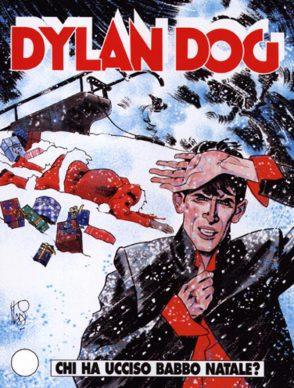 Dylan Dog. Chi ha ucciso Babbo Natale? (Sergio Bonelli Editore, 2012). Copertina