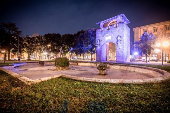 Firenze Light Festival, Piazza della Libertà © Nicola Neri