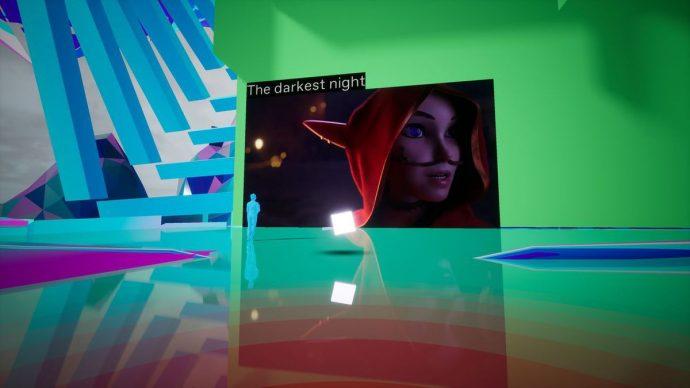 """Guardando il corto di animazione """"The Darkest Night"""" negli spazi virtuali. Courtesy IED"""