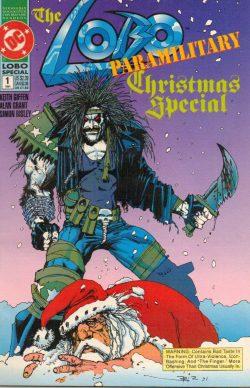 Lobo Paramilitary Christmas Special (DC COmics, 1992). Copertina