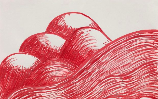 Louise Bourgeois, Untitled, 2003. Watercolor on paper, 22.9 x 28.9 cm : 9 x 11 3:8 in. Photo Christopher Burke