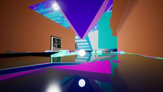 """Muovendosi nell'ambiente virtuale di """"Amaze Project"""". Courtesy IED"""