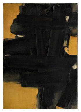 Pierre Soulages, Peinture, 64.5 x 91 cm, 12 janvier 1962. Estimation: € 800,000-1,200,000 © Christie's Images Ltd, 2020