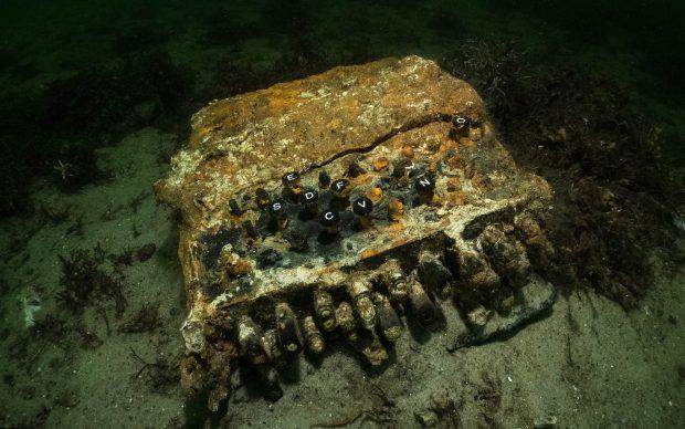 Stellnetz-Bergung Enigma Fund. Photo Florian Huber, submaris. Courtesy World Wildlife Foundation -WWF