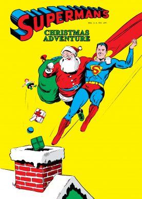 Superman's Christmas Adventure (DC Comics, 1940). Copertina