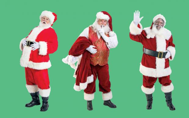 We Are Santa. Portraits and Profiles by Ron Cooper (Princeton Architectural Press). Cover