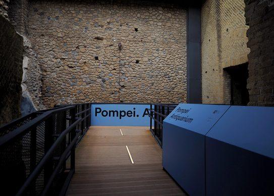 Antiquarium di Pompei, Parco Archeologico di Pompei. Vista della rampa. Photo © Mina Grasso