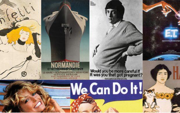Colin Salter, 100 Posters That Changed the World. Pavilion Books 2020. Copertina, dettaglio