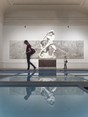 Time is Out of Joint, Installation view, © Galleria Nazionale d'Arte Moderna e Contemporanea, photo Fernando Guerra