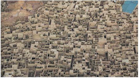 Il dedalo della Old Town di AlUla. Photo credits Royal Commission for AlUla