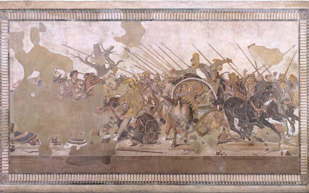 Una foto della Battaglia di Isso © Pedicini Fotografi