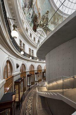 Bourse de Commerce ‒ Pinault Collection © Tadao Ando Architect & Associates, Niney et Marca Architectes, Agence Pierre-Antoine Gatier. Photo Patrick Tourneboeuf