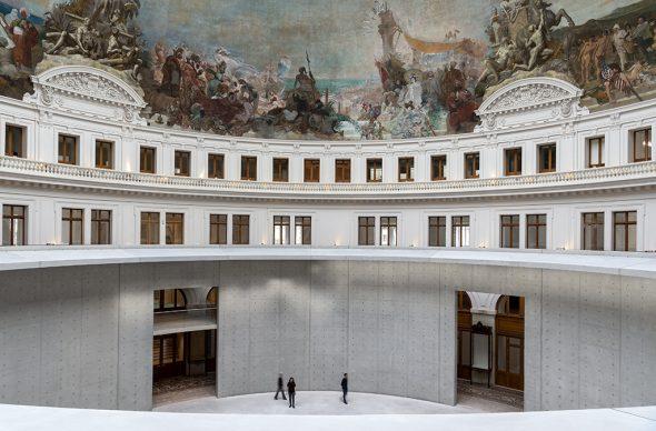 Bourse de Commerce ‒ Pinault Collection © Tadao Ando Architect & Associates, Niney et Marca Architectes, Agence Pierre-Antoine Gatier. Photo Marc Domage