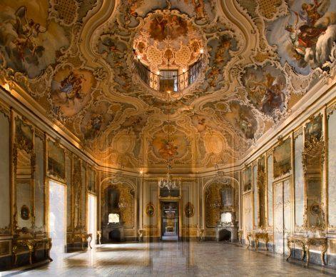 Camilla Borghese, Palazzo Biscari
