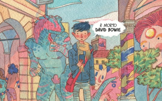 Courtesy Panini Comics (www.panini.it). ©Bucci-Atzeni 2021