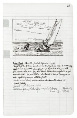 Edward Hopper. Ground Swell, 36 × 50 in., (92,7 × 127,6 cm). The Corcoran Gallery of Art, Washington, D.C.; Acquisto del museo, William A. Clark Fund