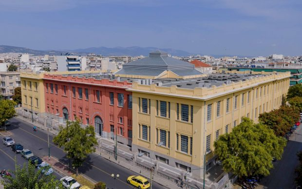 Former Public Tobacco Factory - Hellenic Parliament Library and Printing House | Photograph © Giorgos Charisis | Courtesy the Hellenic Parliament and NEON