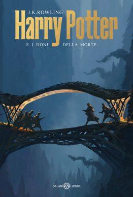 J.K. Rowling. Harry Potter e i Doni della Morte. La copertina di Michele De Lucchi (Salani Editore)