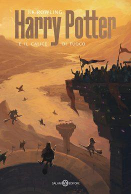 J.K. Rowling. Harry Potter e il calice di fuoco. La copertina di Michele De Lucchi (Salani Editore)