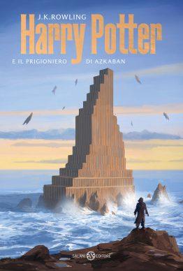 J.K. Rowling. Harry Potter e il prigioniero di Azkaban. La copertina di Michele De Lucchi (Salani Editore)