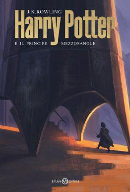 J.K. Rowling. Harry Potter e il principe mezzosangue. La copertina di Michele De Lucchi (Salani Editore)