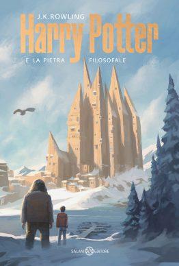 J.K. Rowling. Harry Potter e la pietra filosofale. La copertina di Michele De Lucchi (Salani Editore)
