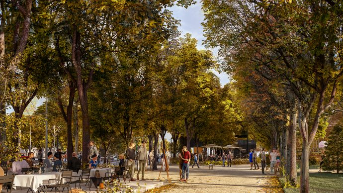 Jardin des Champs Élysées aire de jeux ©PCA-STREAM