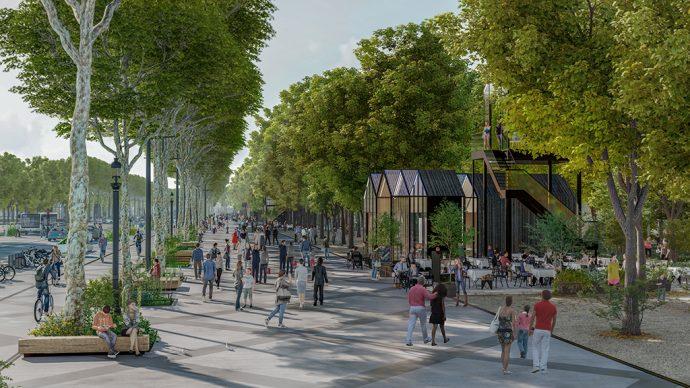 Kiosques Champs Élysées ©PCA-STREAM