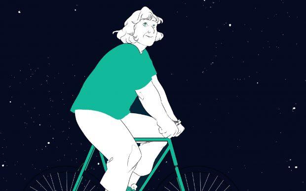 Margherita Hack. In bicicletta tra le stelle. Roberta Balestrucci Fancellu, Laura Vivacqua. Beccogiallo, 2021