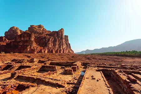 Gli scavi hanno cominciato a rivelare nuovi elementi dei regni di Dadan e Lihyan. Photo credits Royal Commission for AlUla