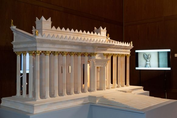 Two Palmyras: real and virtual. Credits The State Hermitage Museum, Saint Petersburg