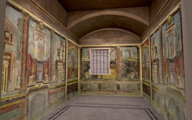 """Virtual installation view of """"The Met Unframed"""", 2021. Home Gallery. Image courtesy The Metropolitan Museum of Art and Verizon"""