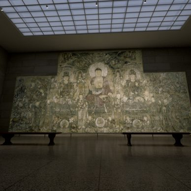 """Virtual installation view of """"The Met Unframed"""", 2021. Power Gallery. Image courtesy The Metropolitan Museum of Art and Verizon"""