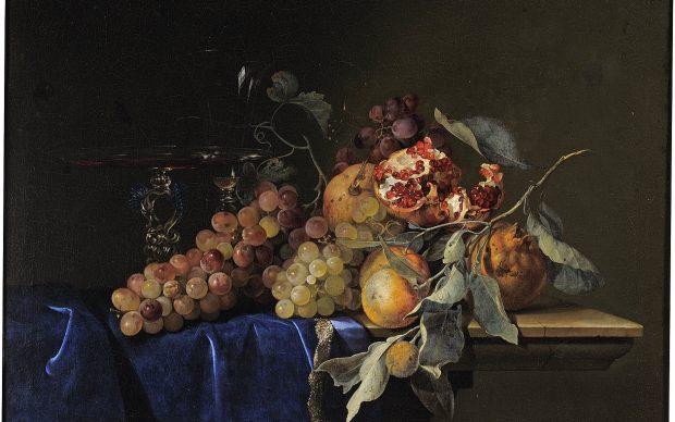 Willem Van Aelst, Natura morta con frutta