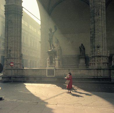 Vincenzo Balocchi, Piazza della Signoria, Firenze, 1961. Raccolte Museali Fratelli Alinari (RMFA) - Archivio Balocchi