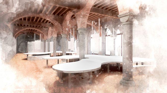 MEI – Museo Nazionale dell'Emigrazione Italiana, Genova. Elaborazione grafica a cura di GNOSIS progetti società cooperativa. Courtesy Comune di Genova