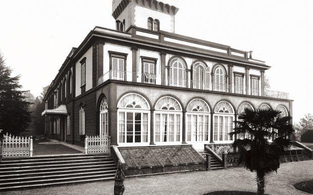 Veduta di Villa Fabbricotti a Firenze, 25/02/1894, Arch. Micheli Vincenzo (1830-1905) XIX sec. Archivi Alinari Firenze