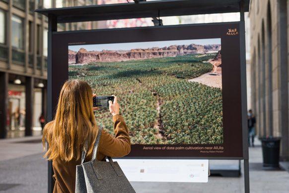 Inaugurazione della mostra AlUla - Journey Through Time, Corso Vittorio Emanuele II – Milano. Photo © Fabiola Catalano