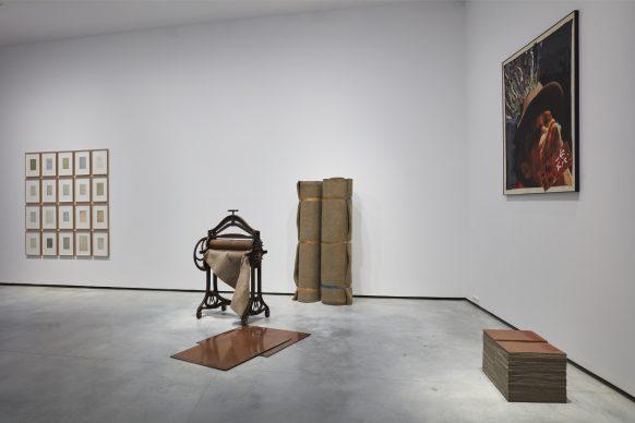 Angelus, 1977, Joseph Beuys. (left) Beuys II , 1989, Nam June Paik. (right) © Joaquín Cortés / Helga de Alvear Museum