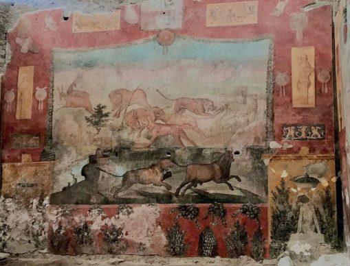 Parco Archeologico di Pompei, la Casa dei Ceii  dopo il restauro. Foto per gentile concessione del Parco Archeologico di Pompei